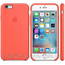"""Чехол силиконовый для iPhone 6 Plus/6S Plus. Apple Silicone Case, цвет """"Спелый абрикос"""", фото 3"""