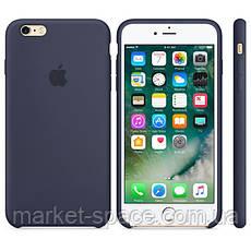 "Чехол силиконовый для iPhone 6 Plus/6S Plus. Apple Silicone Case, цвет ""Тёмно-синий"", фото 2"