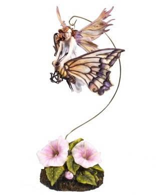 "Статуэтка ""Veronese"" Фея-малютка на  бабочке, фото 2"