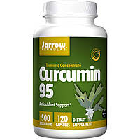 Куркумин 95 (Curcumin), Jarrow Formulas, 500 мг, 120 капсул