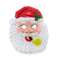 Маска Детская Санта Клаус (уп. 12шт) пластик