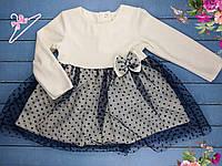 """Детское нарядное  платье """"In love""""  (86/98/110/116 см)"""