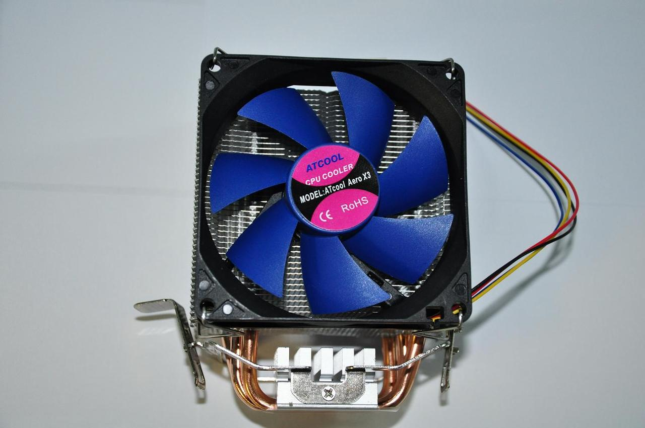 Кулер Atcool Aero X3, AMD/Intel