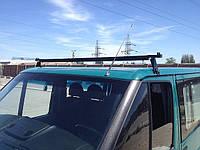 Багажник Ford Transit 2002+, сталь. Ціна за 1 планку з 2 кріпленнями (185см)