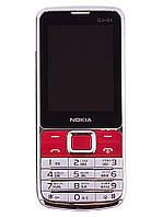 """Мобильный телефон Nokia G3-01.Кнопочный телефон 2.4"""" Duos JAVA. Отличный дизайн!"""