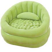 Надувное кресло Intex 68563 Зелёное