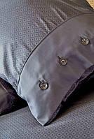 Karaca Home сатин Infinity gri 2019-1 євро комплект постільної білизни, фото 1