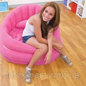 Надувное кресло Intex 68563 Розовое, фото 2