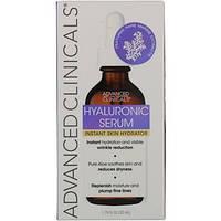 Сыворотка для лица серум, Hyaluronic Serum, гиалуроновая кислота (52мл) Advanced Clinicals