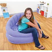 Надувное кресло Intex 68563 Фиолетовое