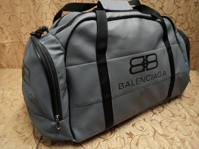 0c704c6649a1 (31*60)Дорожная сумка BALENCIAGA искусств кожа сумка Унисекс спортивная и  стильный опт
