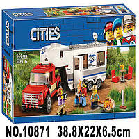 Конструктор Bela 10871 City Кемпер Дом на колесах 360 деталей, фото 1