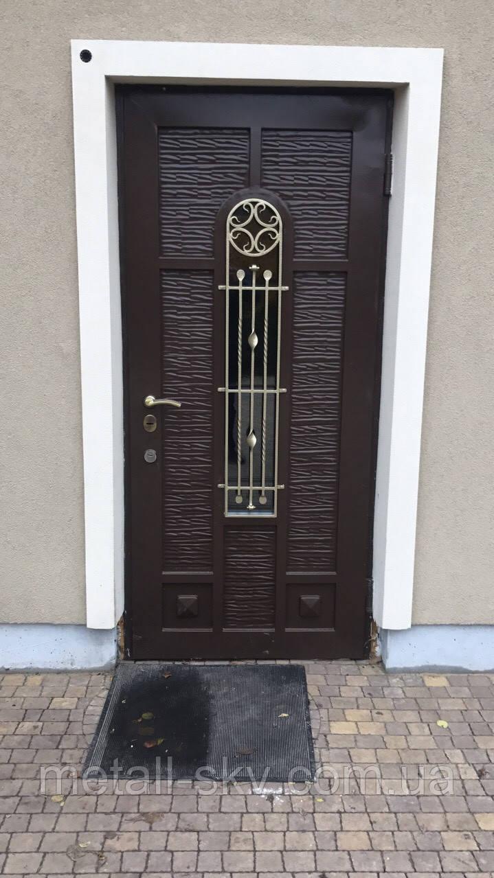 Металлические двери жатка