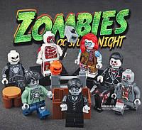 Зомби 1, конструктор, аналог лего