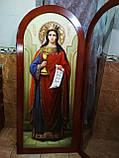 Иконы для храмов, иконостасов. Икона писаная Святая Варвара, фото 2