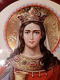 Иконы для храмов, иконостасов. Икона писаная Святая Варвара, фото 3