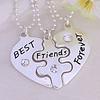 "Кулони для трьох друзів ""Best friends forever"""