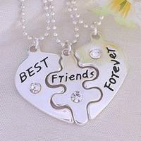 "Кулони для трьох друзів ""Best friends forever"", фото 1"