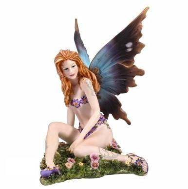 """Статуэтка """"Veronese"""" Юная фея на цветочном поле, фото 2"""