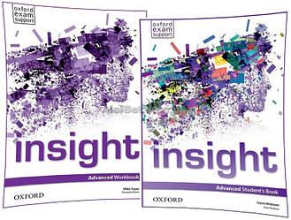 Английский язык /Insight/Student's+Workbook. Учебник+Тетрадь (комплект), Advanced /Oxford