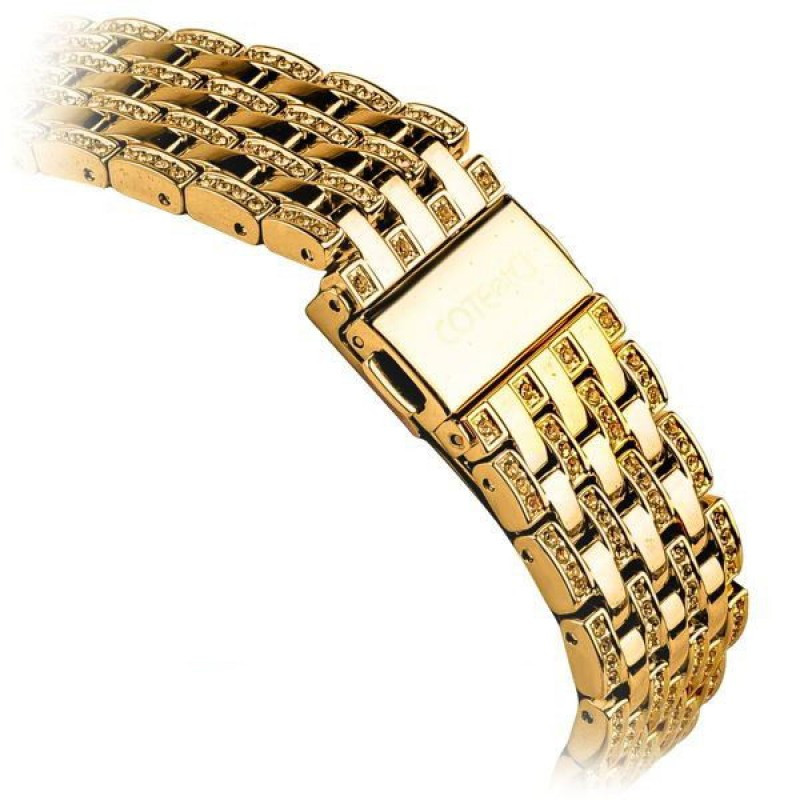 COTEetCI W4 Magnificent Watchband For Apple Watch 38mm Gold