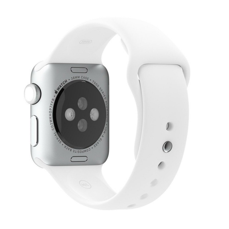 COTEetCI W3 Sport Band for Apple Watch 42mm White