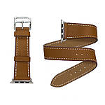 COTEetCI W9 Apple Watch LEATHER 42MM Brown, фото 3