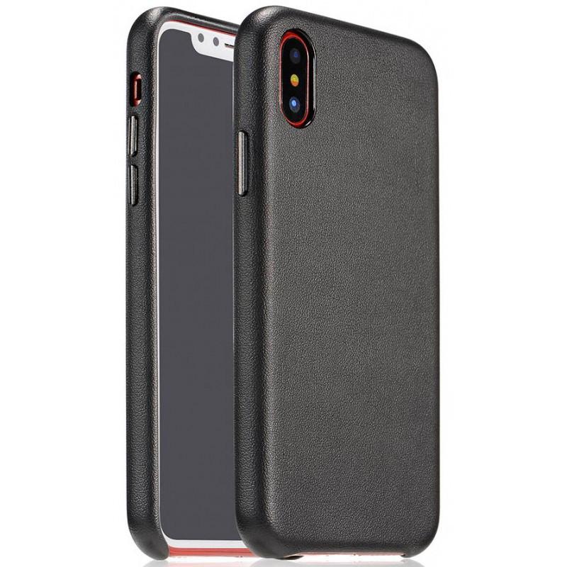 COTEetCI Elegant PU Leather черный для iPhone X/XS