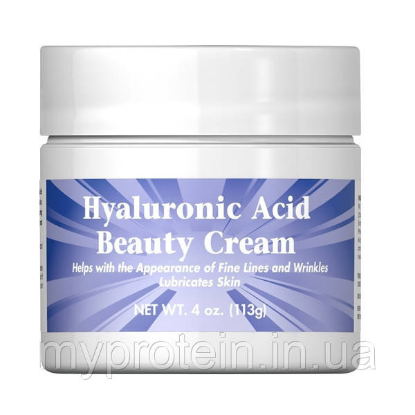 Puritan's Pride Гуалуроновая кислота Hyaluronic Acid Beauty Cream, 226 g