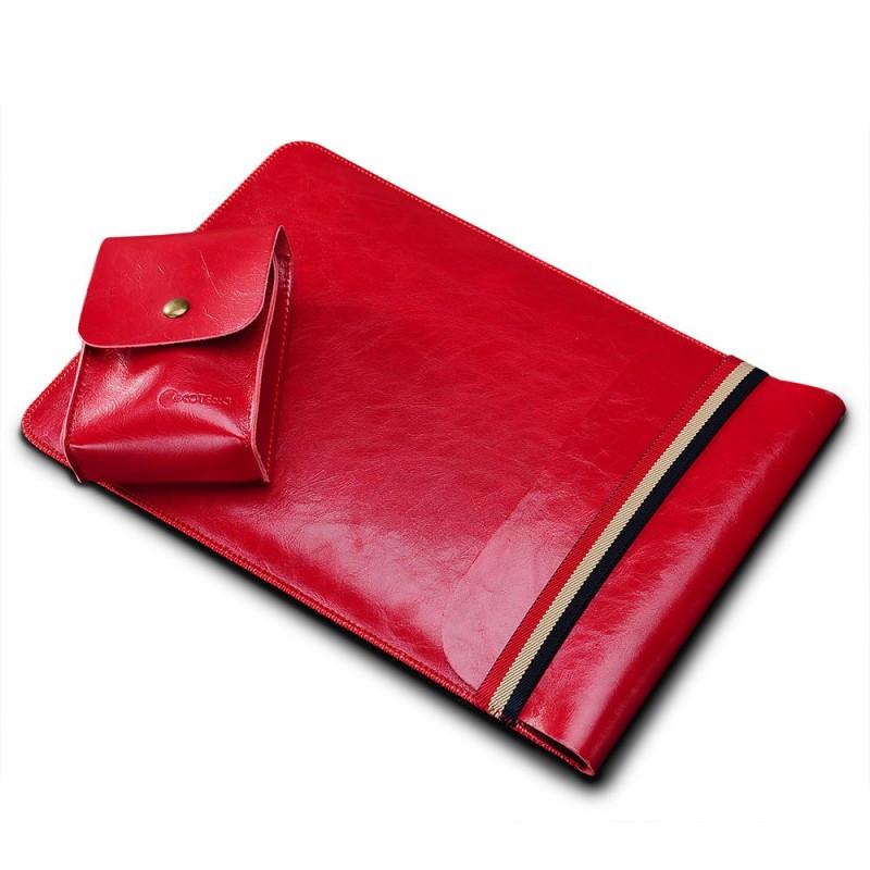 COTEetCI Leather Bag чехол карман для ноутбуков диагональю 13' Red