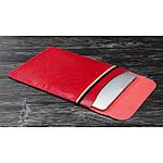 COTEetCI Leather Bag чехол карман для ноутбуков диагональю 13' Red, фото 3