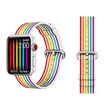 COTEetCI W30 Rainbow Nylon Band For Apple Watch 42mm (WH5251-RB)