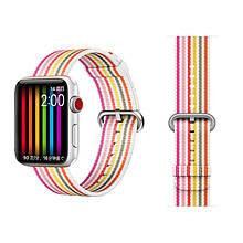 COTEetCI W30 Rainbow Nylon Band For Apple Watch 42mm (WH5251-WP)