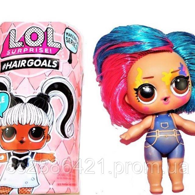 ОРИГИНАЛ! Кукла Лол с настоящими волосами 5 серия - Lol Hairgoals