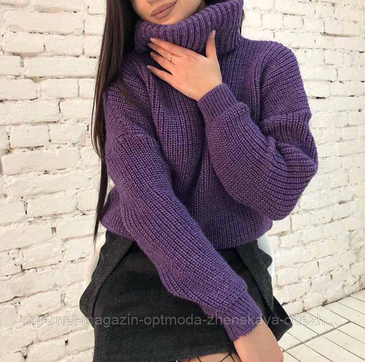 Модный женский свитер оптом