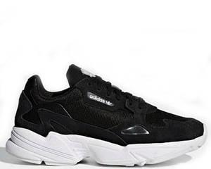 """Кроссовки Adidas Falcon W """"Black"""" Арт. 3802"""
