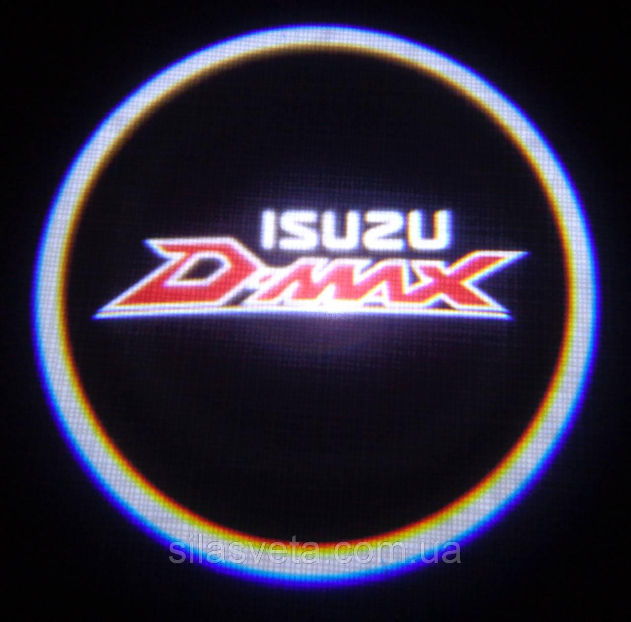 Лазерный проектор логотипа автомобиля ISUZU