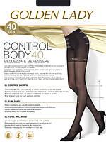 Колготки с утягивающими шортиками Golden Lady Control Body 40 den, фото 1