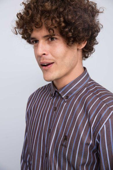 Мужская рубашка U.S. POLO Assn . Оригинал с голограммой. размер S, M