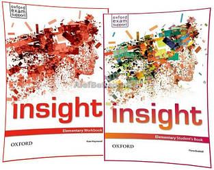 Английский язык /Insight/Student's+Workbook. Учебник+Тетрадь (комплект), Elementary /Oxford