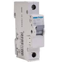 Автоматичний вимикач 1р, С, 10 A, 6 кА, 1м Хагер