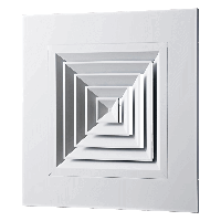 Вентс ДПп 595*140 - диффузор панельный потолочный