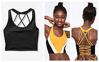 Спорт бра лиф спортивный XS S L Victorias Secret майка топ Виктория Сикрет