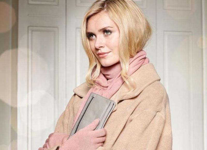 Нежный, мягусенький шарф: шерсть и кашемир, от тсм Tchibo (Чибо), Германия,размер примерно 200*30 см. Нюанс.