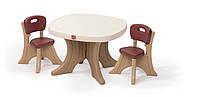 "Набор: стол и 2 стула ""TABLE & CHAIRS SET"", 50х69х69см/54х34х33 см"