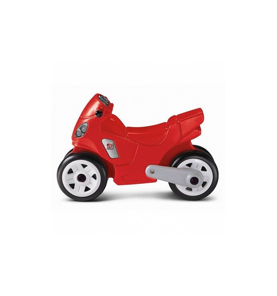Детский велосипед-мотоцикл, красный, 40х60х28 см