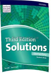 Английский язык /Solutions/ Student's Book. Учебник, Elementary / Oxford