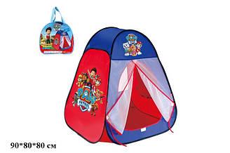 """Намет дитячий (палатка) 817S (24шт) """"Щенячий патруль"""" """"Paw Patrol"""" в сумці 90*80*80 см"""