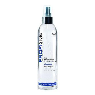 Лак для волос PROFIStyle с блеском (экстрасильная фиксация), 250мл.