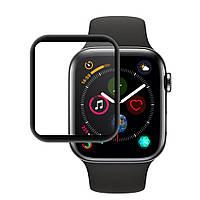 Защитное стекло Mocolo 5D Full Glue для Apple Watch iWatch Series 4 / 5 40mm Black (0.21 мм)